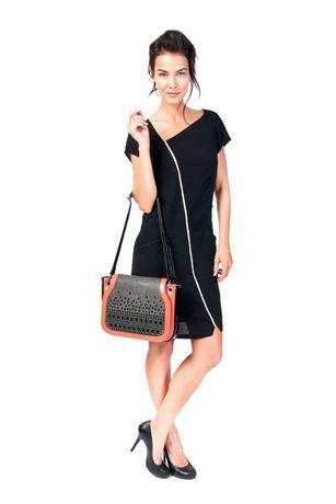 Skunkfunk Spring Summer 2014 collection  Dress: ARENE Bag: AINA