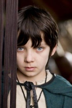 Mordred from Merlin.... Asa Butterfield..... as a young boy was adorable... he still is!
