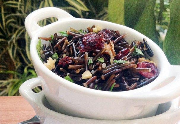 salada de arroz selvagem (Foto: Divulgação/Josapar)