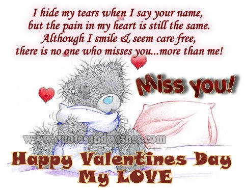 Qoutes For Valentine S Day In Heaven Missing You Quotes