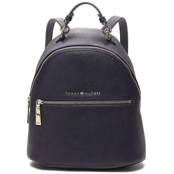 tommy hilfiger mini backpack 376495 pyg liked on. Black Bedroom Furniture Sets. Home Design Ideas