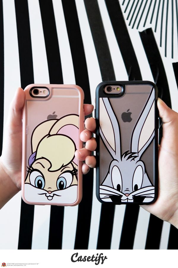 For you and your sweetheart. Tap link here http://www.casetify.com/collections/looney_tunes#/  to shop #CASETIFYXLOONEYTUNES