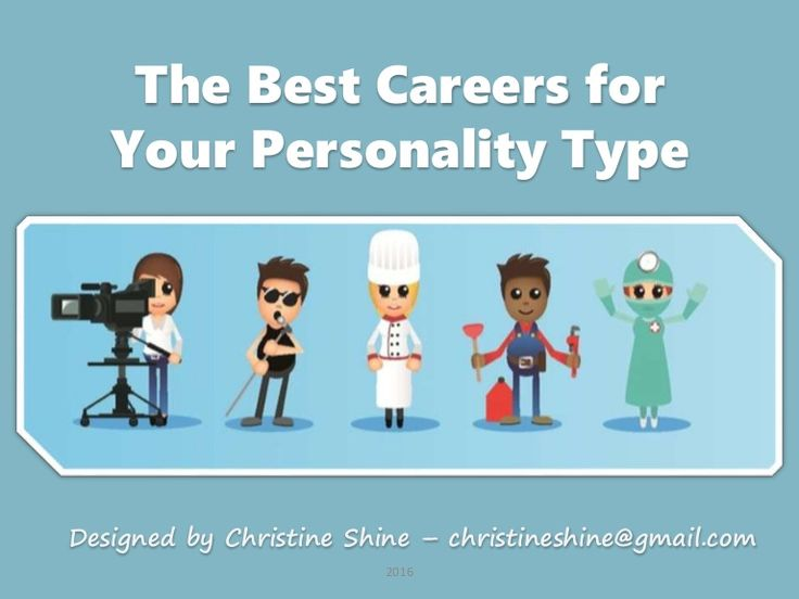Best Careers for Your Personality Type MBTI