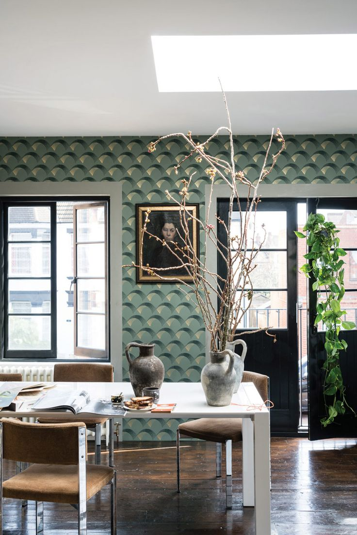 39 best farrow ball tapeten images on pinterest farrow ball wall murals and feather. Black Bedroom Furniture Sets. Home Design Ideas