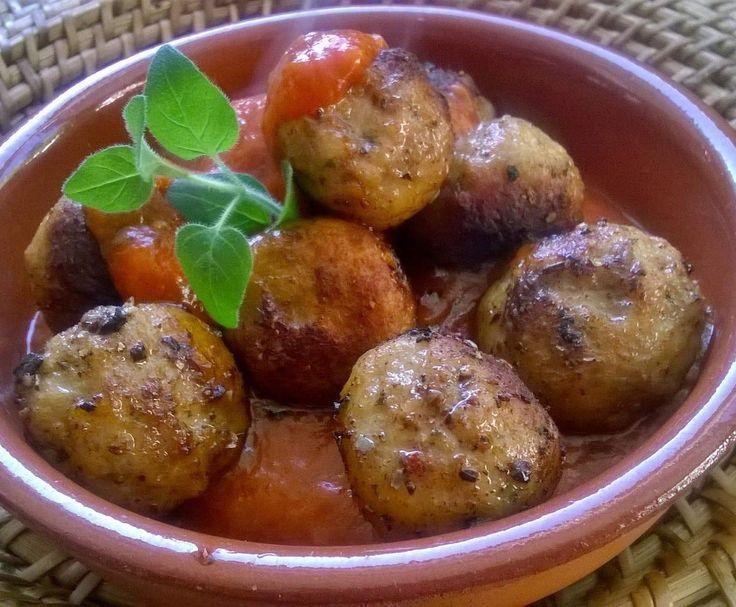Tapas Albóndigas con Salsa – Fleischbällchen in Tomatensauce von Fett-For-Fun-Thermi auf www.rezeptwelt.de, der Thermomix ® Community