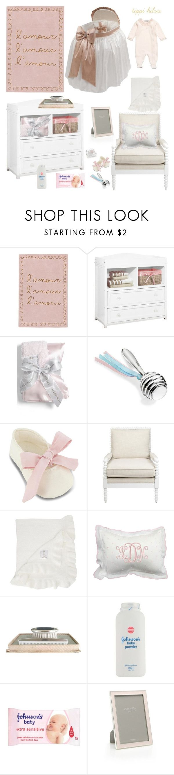 """Quite Antique Nursery"" by tippi-h ❤ liked on Polyvore featuring interior, interiors, interior design, home, home decor, interior decorating, Little Giraffe, Il Gufo and Addison Ross"