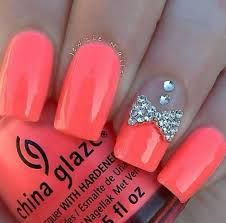 nail designs with bows - Google Search