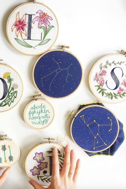 Because embroidery is currently enjoying its time in the spotlight, we rounded up our favorite embroiderers on Instagram to follow for endless colorful, stich-inspiration.