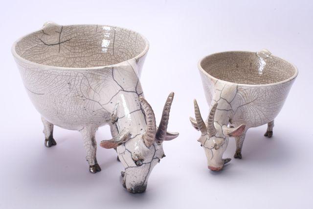 Atelier Planète Céramique - bols en raku dans le Cantal (Auvergne)