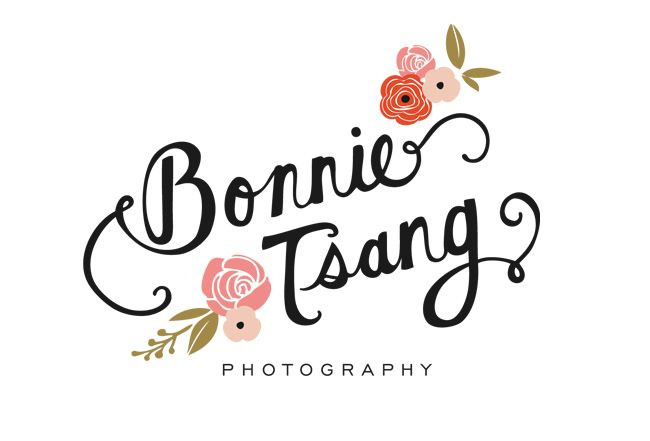 This logo is for a photographer who seems to focus on female clients. She does wedding photography and portraiture, and the custom script combined with floral motifs seems to hit the mark. Playful, sweet, and friendly, but still elegant. Nice colors and hierarchy.