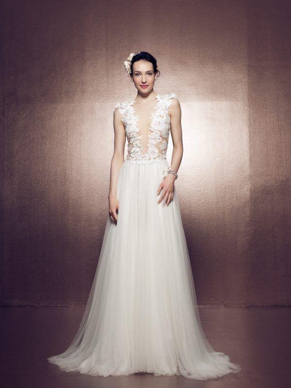 8f8210b7adb Mira Couture Daalarna Ballet 141 Bridal Wedding Gown Dress Chicago Front