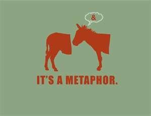 Its a metaphor