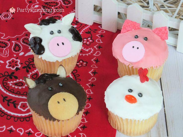 The 25 Best Easy Animal Cupcakes Ideas On Pinterest