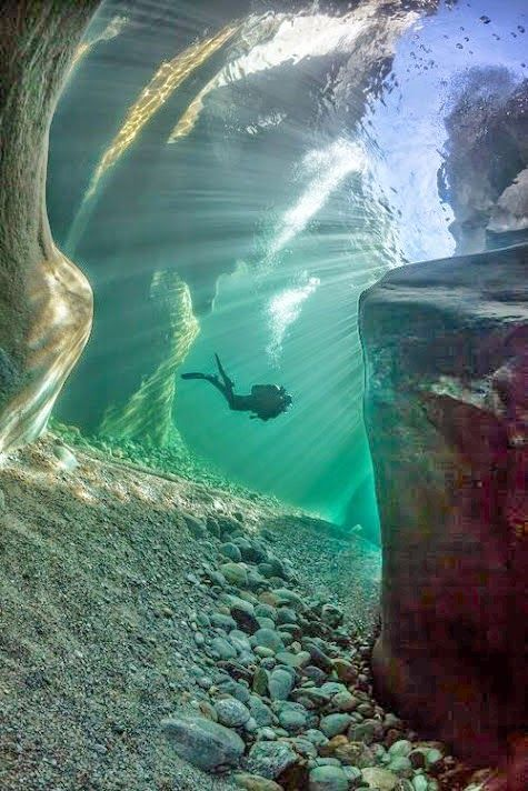I want to be there!!  #scubadiving #beautiful #underwater #bethere