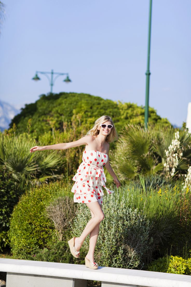 Pepita Beachwear Spring Summer 2014. Sandy abito, Marylin zeppe