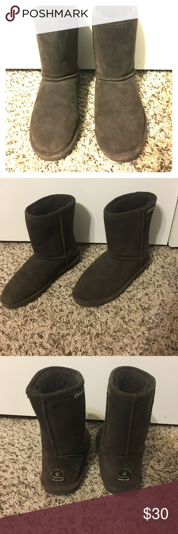 Winter boots Brown winter bear paw boots BearPaw Shoes Winter & Rain Boots