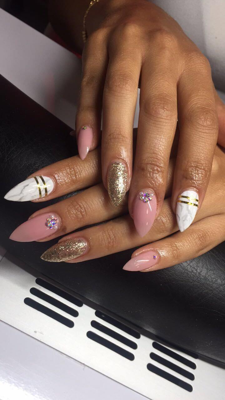 Full Set Acrylic Hands 35 Pedicure Nail Art Manicure Full Set Acrylic