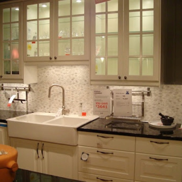 Kitchen Design With Bali Blinds And Sink Faucet