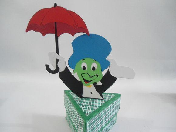 http://www.elo7.com.br/caixa-grilo-falante-pinoquio/dp/49B5D5 caixa porta guloseimas grilo falante  Produzida em papeis de alta gramatura    ideal para festa pinoquio