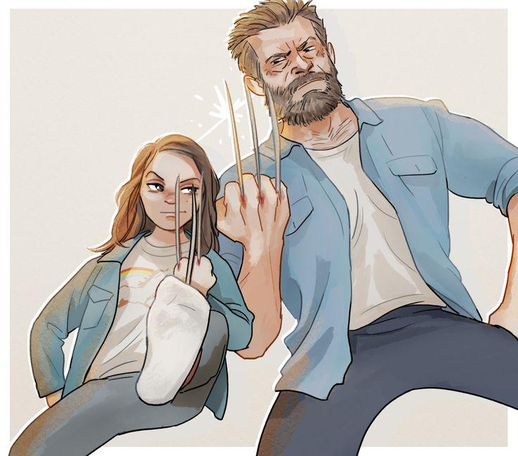 Logan,Логан,X-Men Movie Universe,Вселенная фильмов о Людях-Икс,Marvel,Вселенная Марвел,фэндомы,Wolverine,Росомаха, Логан, Джеймс Хоулетт,X-23,Икс-23, Росомаха, Лаура Кинни,X-Men,Люди-Икс