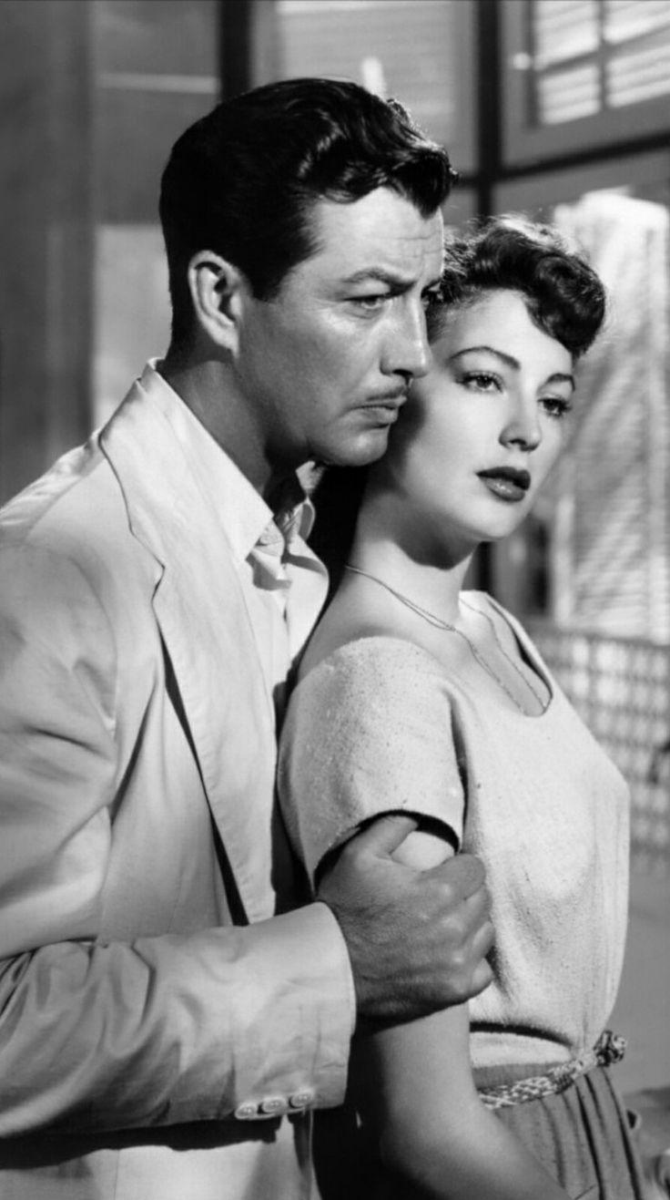 Ava Gardner and Robert Taylor