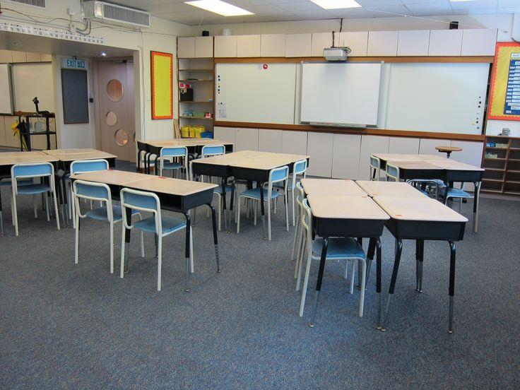 Classroom Decoration Desk Arrangements : Th grade classroom set up inredning klassrum