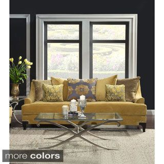 Shop For Furniture Of America Visconti Premium Fabric Sofa. Get Free  Shipping At Overstock.