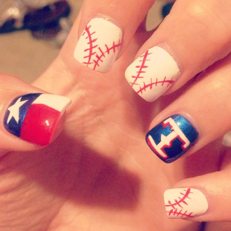 101 best Sports Nail Ideas images on Pinterest | Sport nails, Nail ...