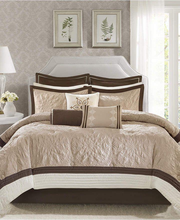 Madison Park Juliana 9 Pc King Comforter Set Amp Reviews