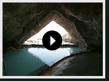 動画で見る 大洞窟風呂 忘帰洞