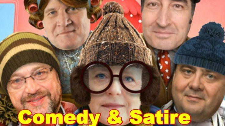 Comedy & Satire zu Weihnachten mit Merkel Seehofer Gabriel Schulz Özdemir Schönes Fest Feiertage