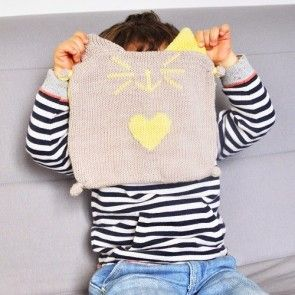 Kit tricot by WoolKiss & Julypouce :Doudou facile à tricoter