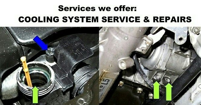COOLING SYSTEM SERVICE & REPAIRS⠀⠀ ⠀⠀ Radiator Repairs & Cooling System Pressure Tests⠀⠀ New Replacement Radiators ⠀⠀ Water Pump Service⠀⠀ Thermostats⠀⠀ Freeze Plug Service⠀⠀ Cylinder Head Gasket & Cylinder Head Service⠀⠀ Cooling System Flush⠀⠀ Coolant Exchange Service ⠀⠀ Thermostatically Controlled Circuits⠀⠀ Electrical Fan & Motor Assemblies⠀⠀ Cooling System Re-Hose Service ⠀⠀ Electrical Repairs to Dashboard Monitoring Lights & Gauges that Affect the Operation of the Cooling System⠀⠀