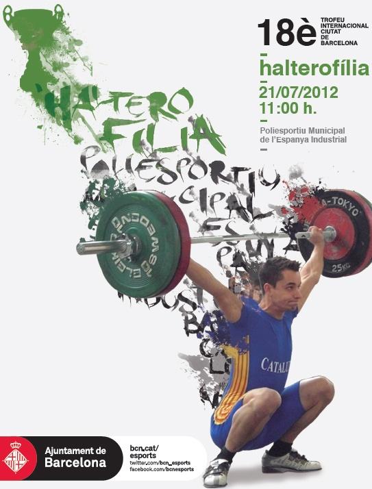 Els homes i les dones més forçuts celebren el 18è Trofeu Internacional Ciutat de Barcelona d'Halterofília, dissabte 21 de juliol, al Centre Esportiu Municipal de l'Espanya Industrial.