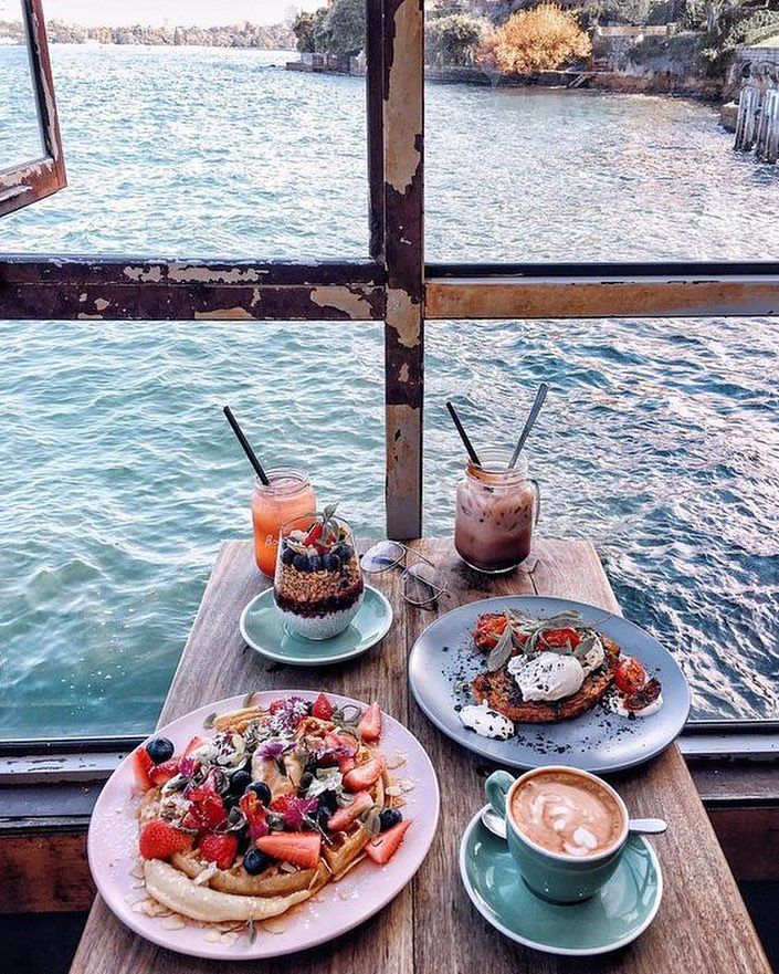 1 534 Likes 19 Comments Breakfast With A View Breakfastwithaview On Instagram Good Morning From Amsterdam Beautiful Pi Food Aesthetic Food Pretty Food