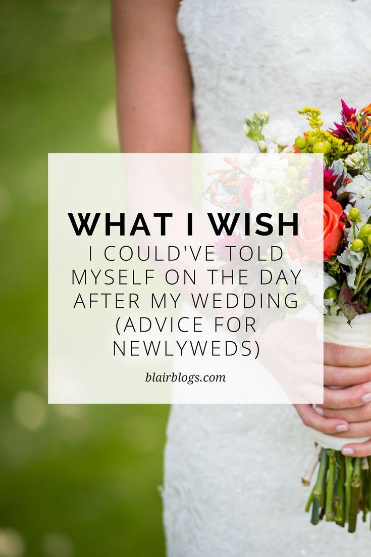 7 pieces of advice for newlyweds | BlairBlogs.com