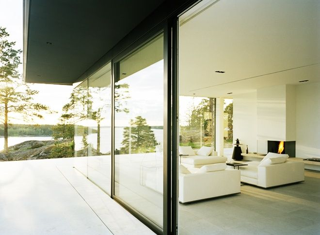 Enjoying an unlimited view villa överby by john robert nilsson