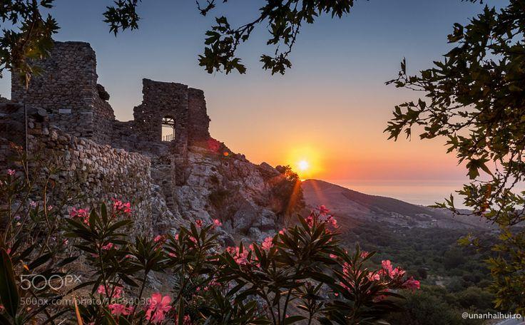 Sunset in Samothraki Island by anca_duse