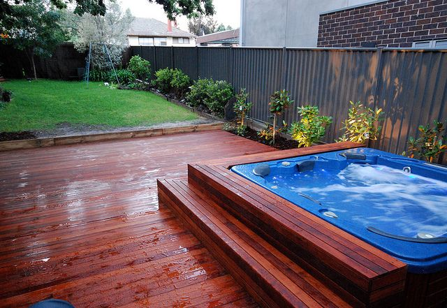 spa in deck