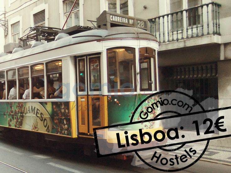 #Lisbon, #Portugal 12€  Lisbon is one of the #hippest and most #underrated #destination in #Europe. Even it's attracting more and more #travelers, Lisbon can be a quiet and #relaxing place to visit. If you are more into #party, you will find dozens of parties every night as well! Find all #awesome hostels in Lisbon with Gomio.  http://www.gomio.com/en/hostels/europe/portugal/lisbon/search.htm  #Backpacking #backpacker #travel #summer #sun #beach #traveling #ideas #inspiration