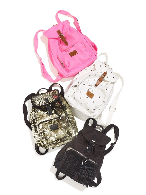 Love these super cute Mini Backpacks from #VSPINK's summer must-haves! #MadeForSummer