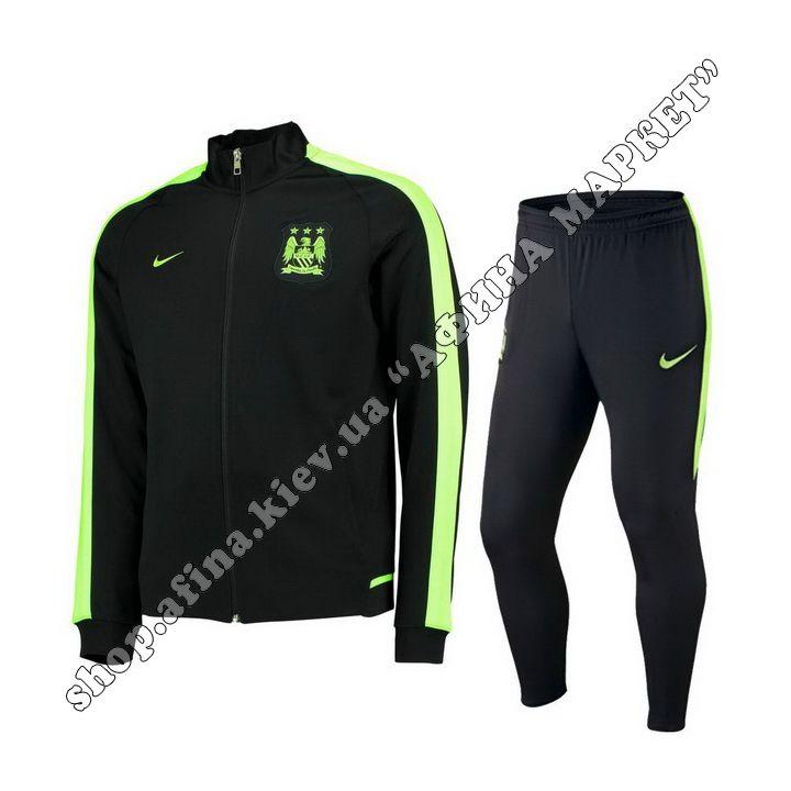Костюм футбольный Манчестер Сити Nike Revolution Tracksuit Black 2016 БЕСПЛАТНАЯ ДОСТАВКА. Отправка в день заказа.  Звоните: 0500477432, 0934000825
