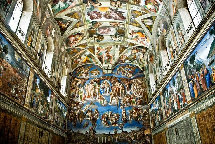 7 Facts About Michelangelo's Sistine Chapel Ceiling