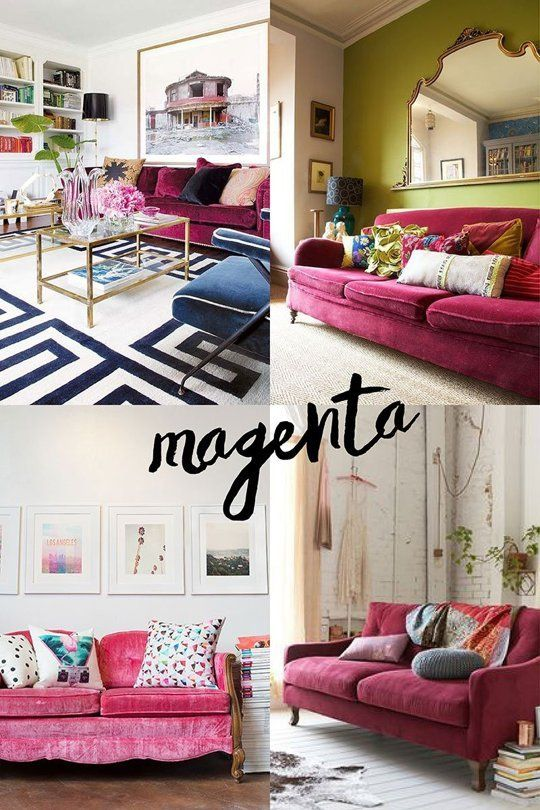 Shopping Guide To Colorful Sofas