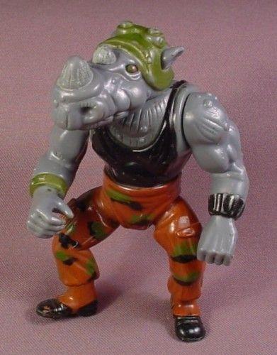 TMNT Teenage Mutant Ninja Turtles ROCKSTEADY Vintage Action Figure 1988