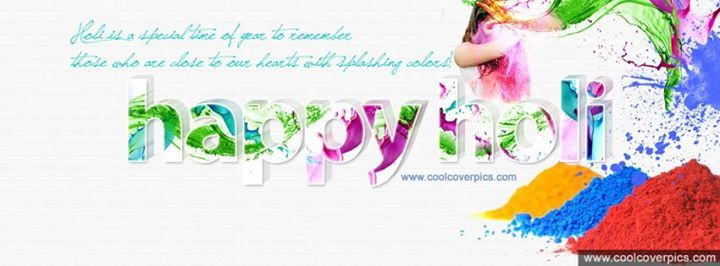 Here's the best,unique collection of Happy holi wishes HD facebook timeline…