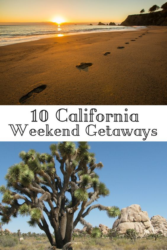 Travel the World: 10 unique California weekend getaway ideas for travelers who can't take a lot of time off. #California #travel