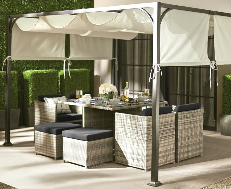 Patio 2014 Collection Porto Dining Set By GlucksteinHome