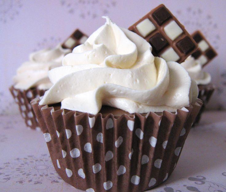 Cupcakes Tres Chocolate #cupcakes #chocolate #ciudadreal