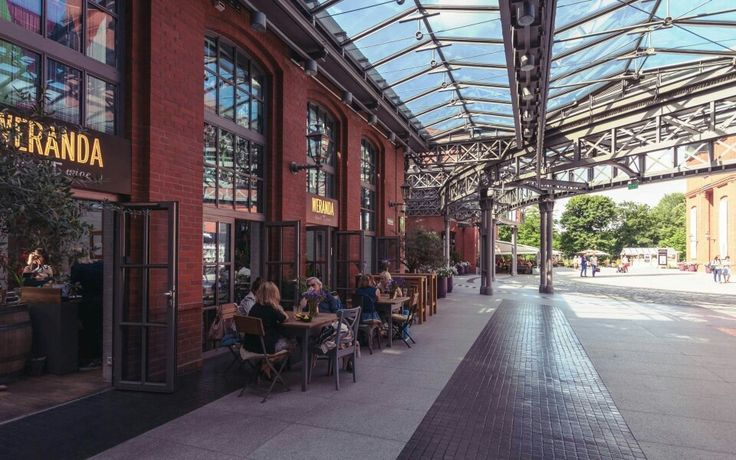 Grab a drink and relax at the outside of one of our restaurants!